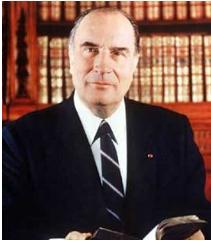 MORT DE François Mitterrand
