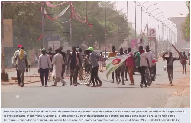 tensions post-électorales au Niger