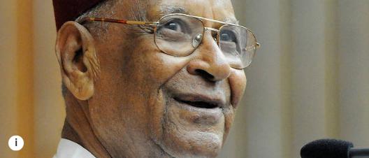 Ce dimanche 21 mars le Sénégalais Amadou Mahtar Mbow a eu 100 ans
