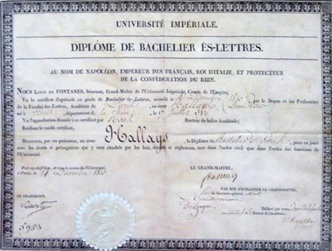Napoléon Ier organise l'Université