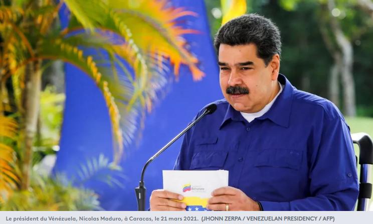 Le président du Vénézuela Nicolas Maduro