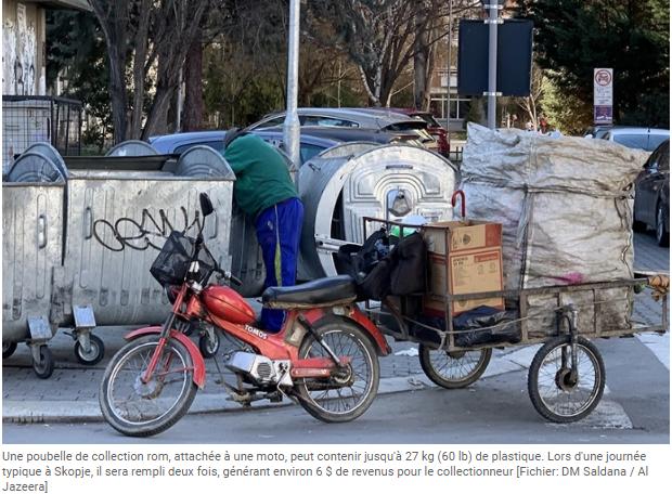 Les collecteurs de recyclage de dechets