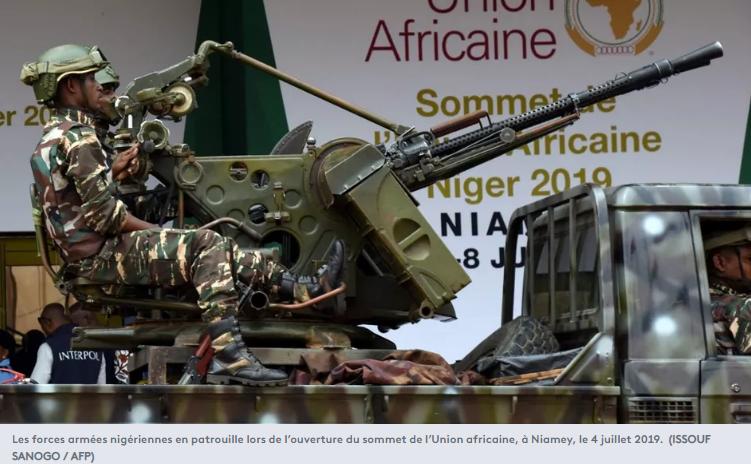 Les forces armées nigériennes