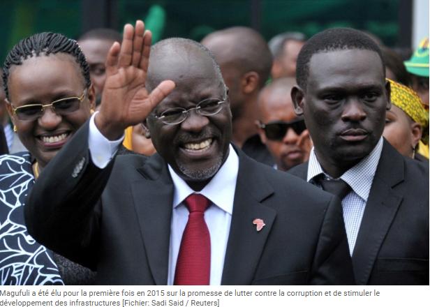 Tanzanie mort du président John Magufuli