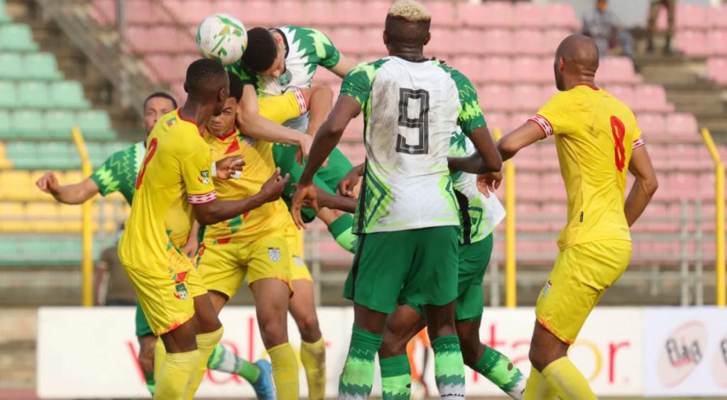 le Nigéria battait le Bénin 1-0 au stade Charles de Gaulle à Porto Novo