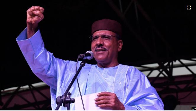 Investiture de Mohamed Bazoum à Niamey