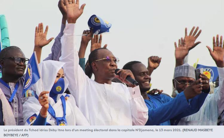 Le président du Tchad Idriss Déby Itno
